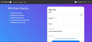 Free Litecoin Hourly Faucet